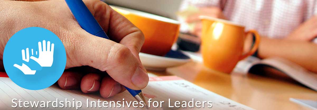 Stewardship training for leaders